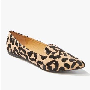 Cheetah flats from Forever 21